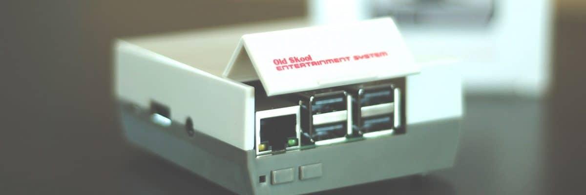 Bild von einem Raspberry Pi