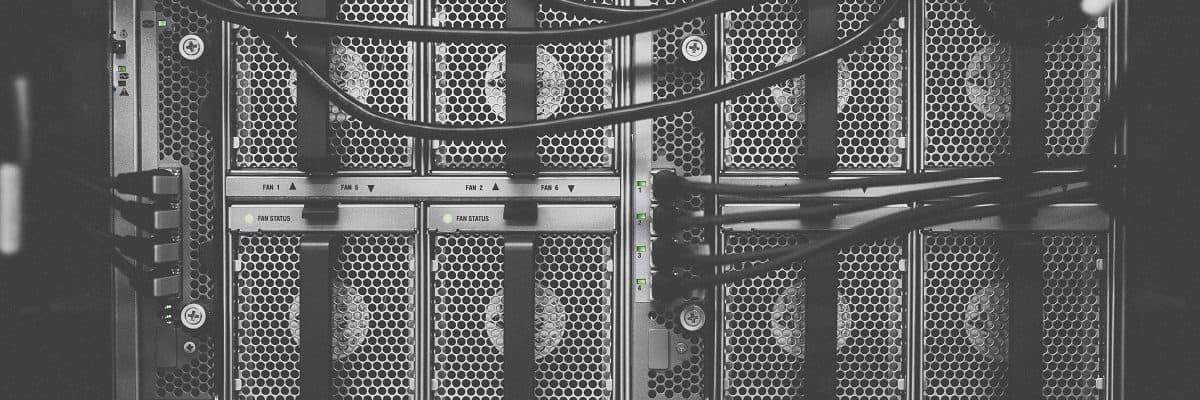 Bild von einem Server